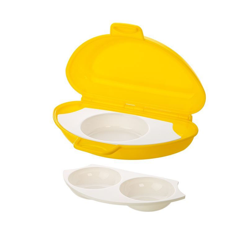 Prep Solutions by Progressive – Microwave 4 in 1 Egg Cooker