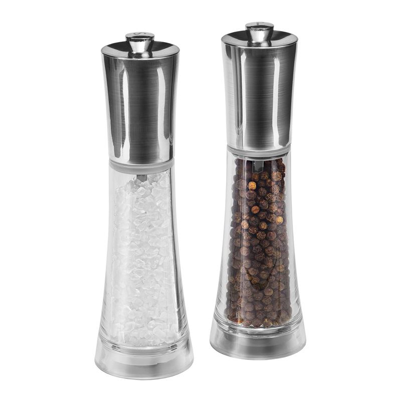 Cole & Mason – Style 16.5cm Saltmill and Pepper Grinder Set