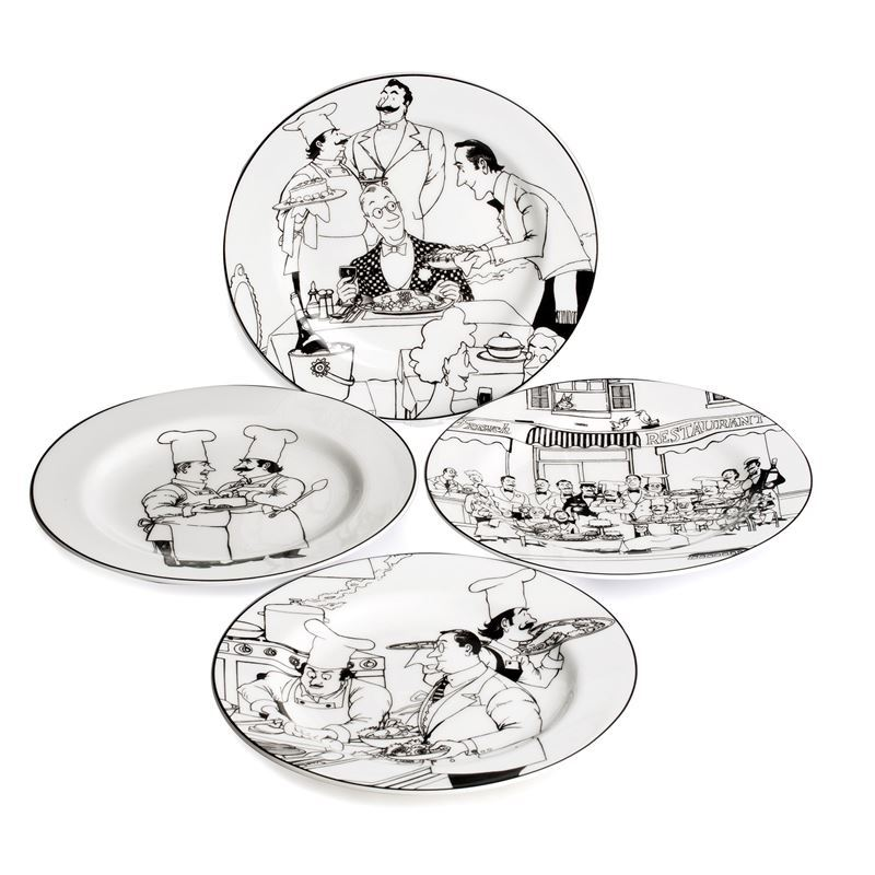Noritake – Le Restaurant by EPOCH Entree Plate 21cm Set of 4
