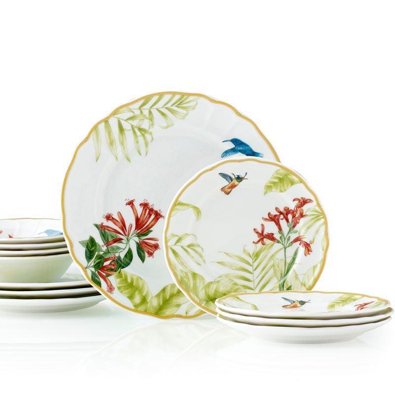 Noritake – Hummingbird Meadow by EPOCH 12pc Dinner Set
