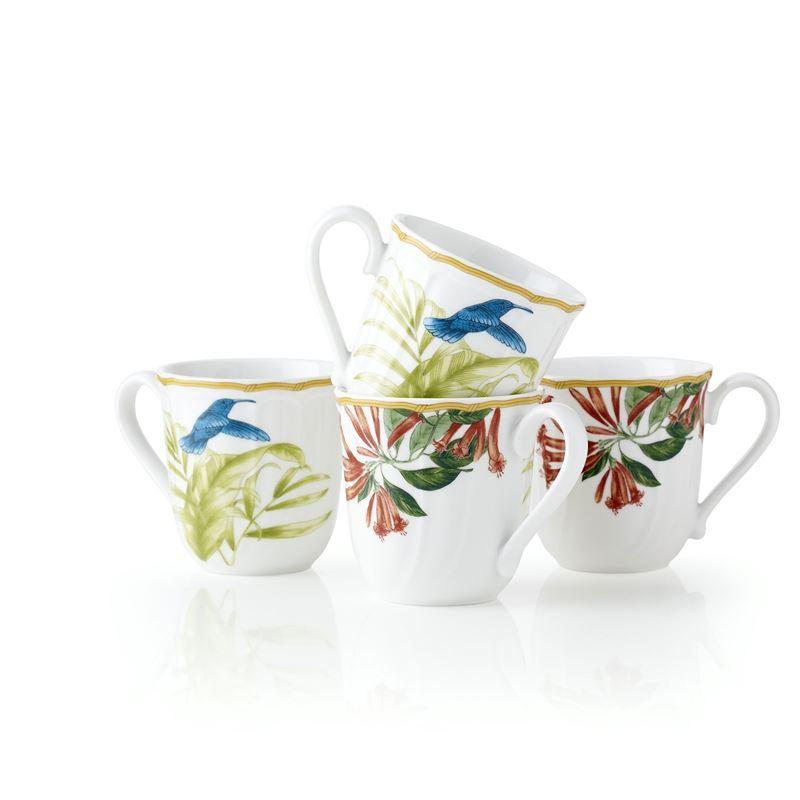 Noritake – Hummingbird Meadow by EPOCH Mug 325ml Set of 4