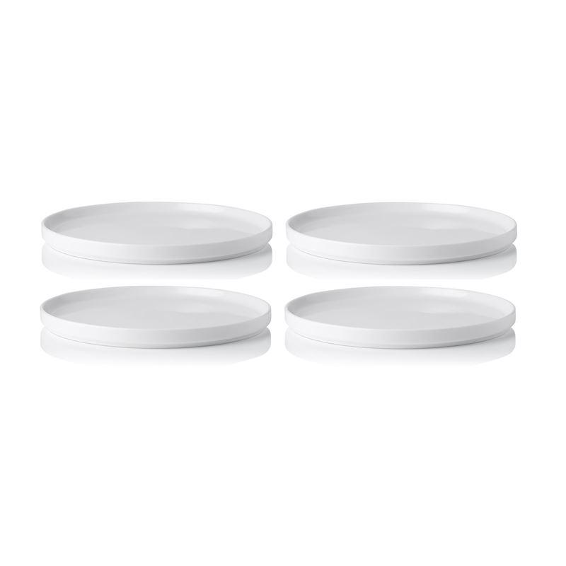 Noritake – Stax White Commercial Grade Dinner Plate 24.5cm Set of 4