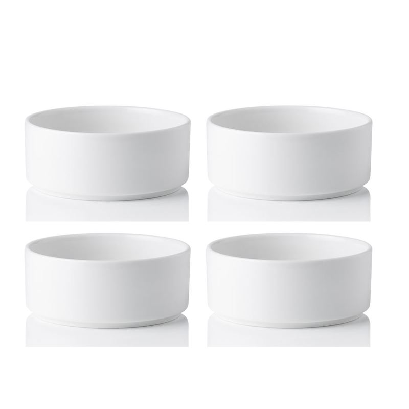 Noritake – Stax White Commercial Grade Cereal Bowl 15cm Set of 4