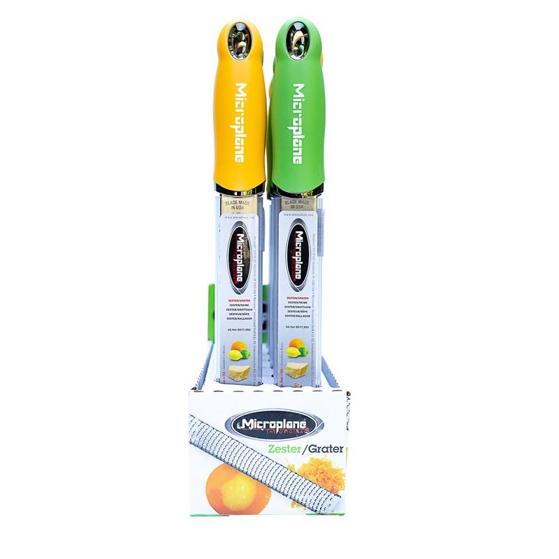 Microplane – Premium Classic Zester with Safety Cover 32cm Citrus