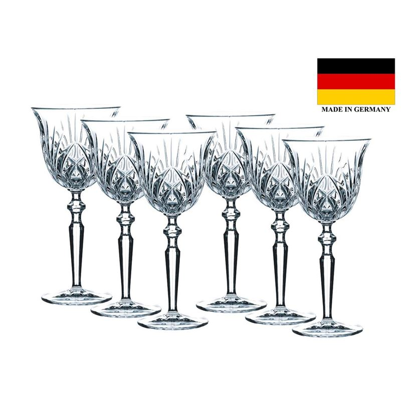 Nachtmann Crystal – Palais Red Wine Goblet 230ml Set of 6 (Made in Italy)