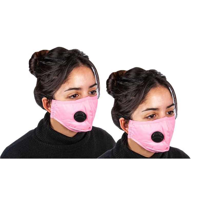 Fabric Fashion Face Mask Pink – Non-Medical PACK of 2