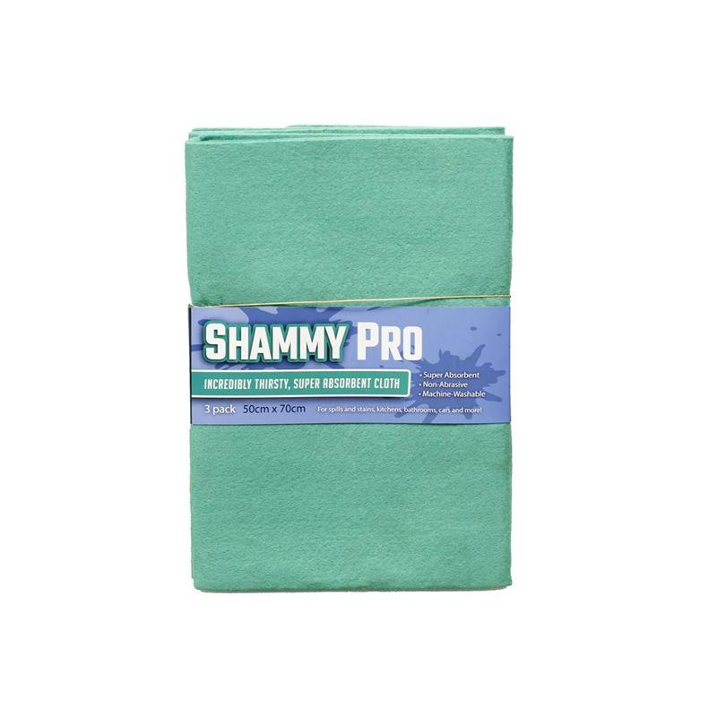 Shammy Pro – Super Absorbent Cloth 50x70cm Pack of 3