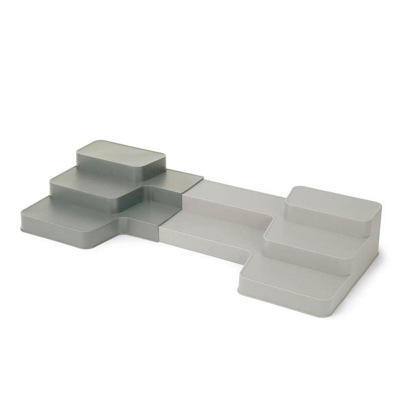 Joseph Joseph – Duo Expandable Tiered Cupboard Organiser Grey