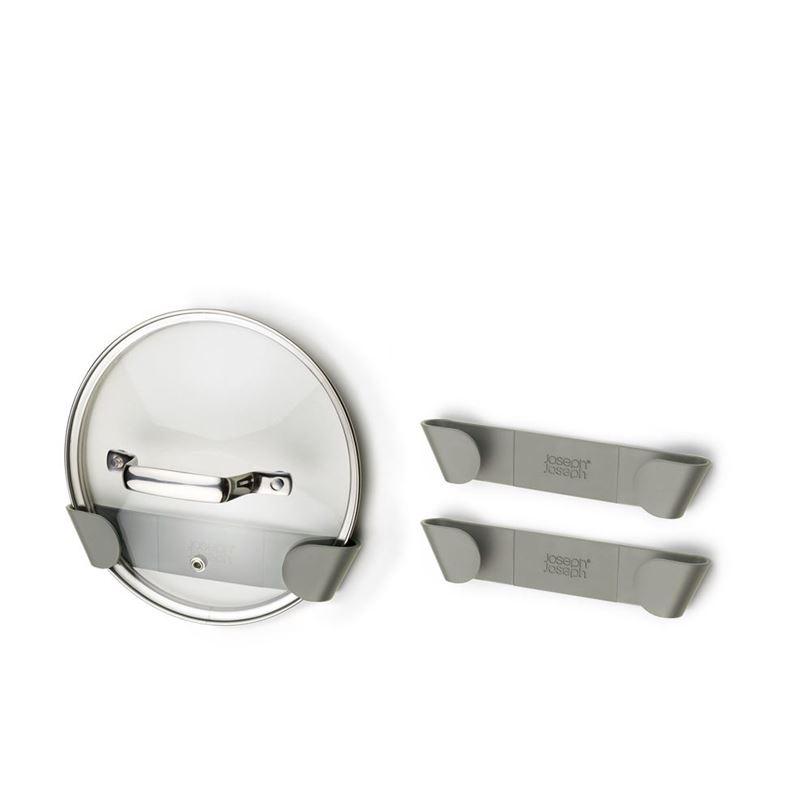 Joseph Joseph – Duo In-Cupboard Pan Lid Holders set of 3 Grey