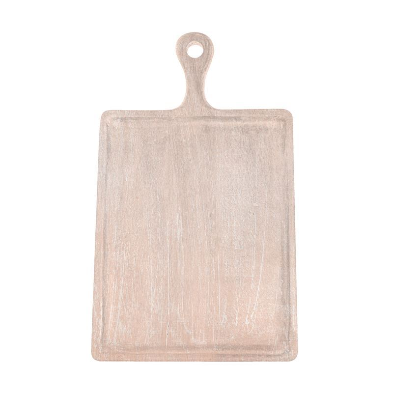 Chef Inox – Mangowood Serving Board Rectangular with Handle 30x40x2cm Coral