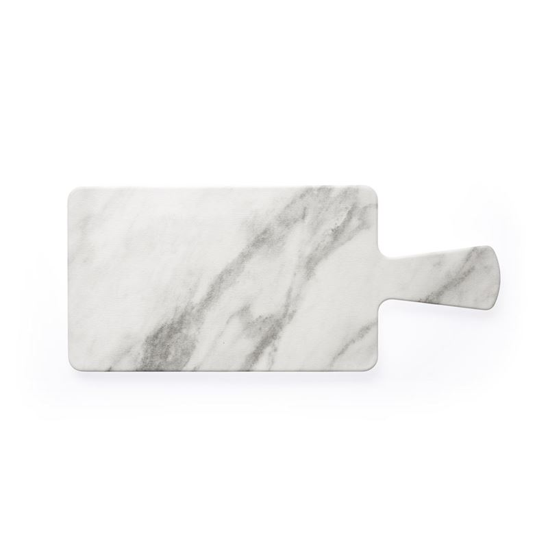 Chef Inox – Marble Effect Melamine Rectangular Paddle Board 30x18cm