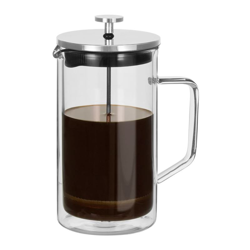 Avanti – Capri Double Wall Glass Coffee Plunger 1Ltr