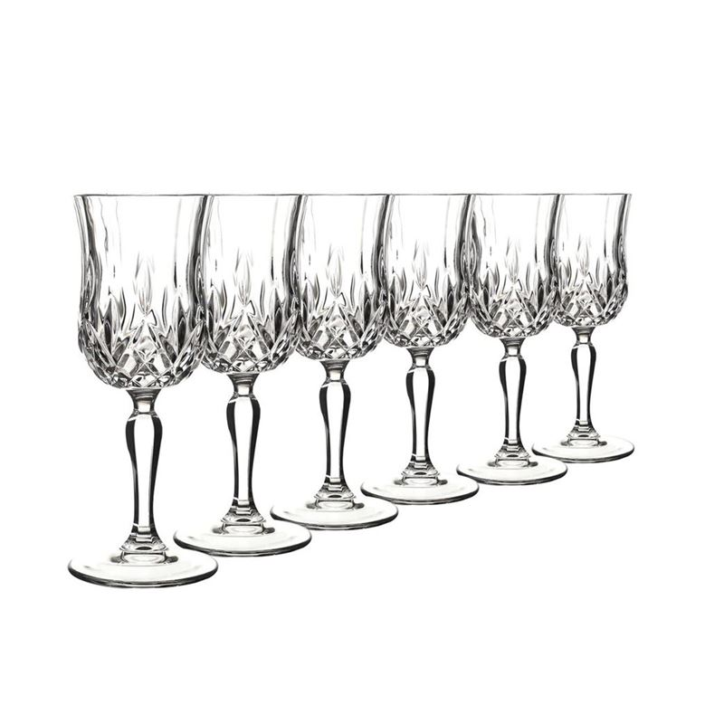 RCR Cristalleria Italiana – Opera Wine 120ml Set of 6 (Made in Italy)