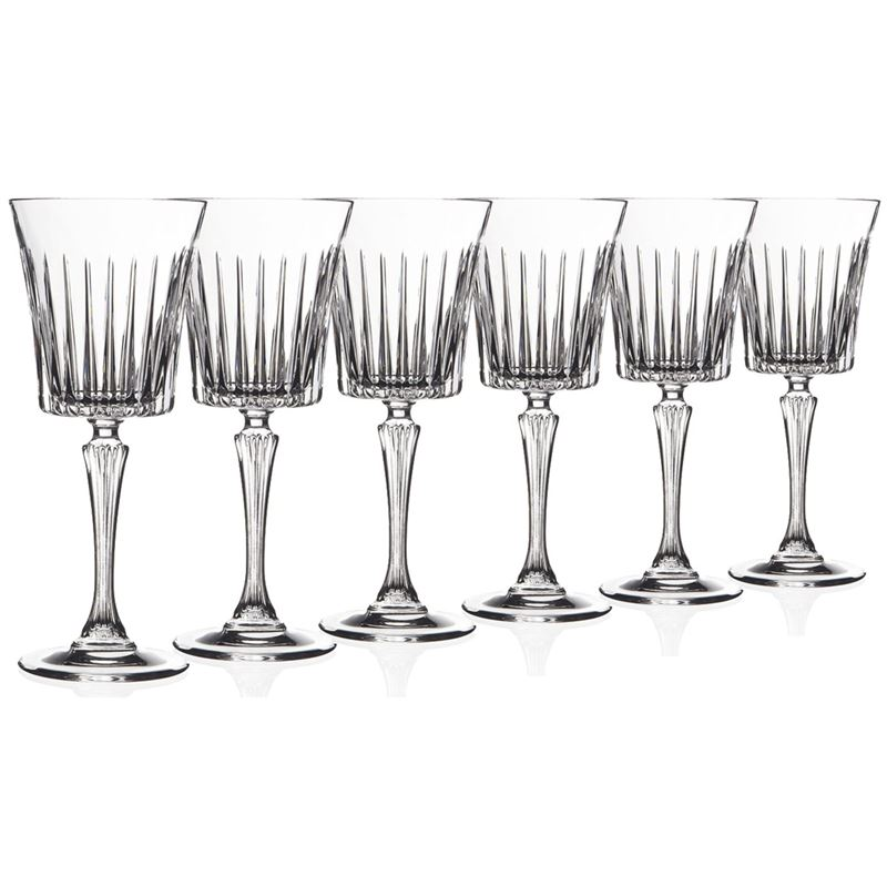 RCR Cristalleria Italiana – Timeless Goblet 300ml Set of 6 (Made in Italy)
