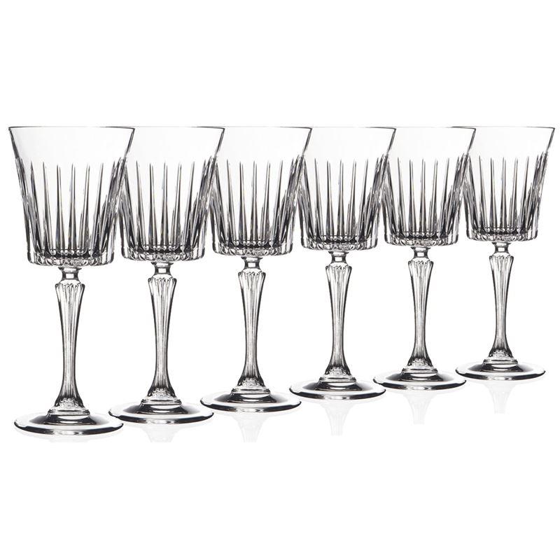 RCR Cristalleria Italiana – Timeless Wine Goblet 230ml Set of 6 (Made in Italy)