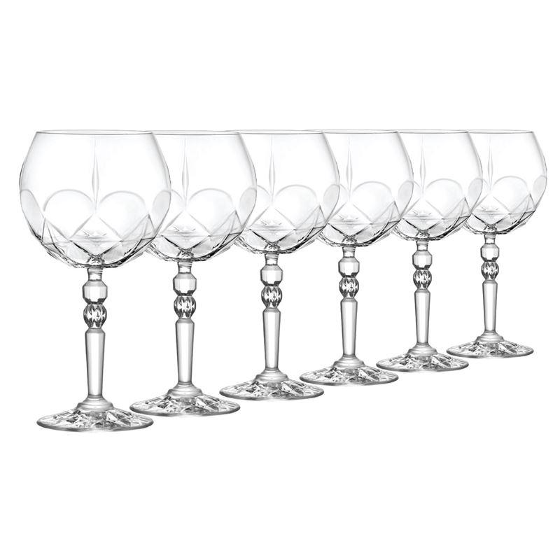 RCR Cristalleria Italiana – Alkemist Gin & Tonic 580ml Set of 6 (Made in Italy)
