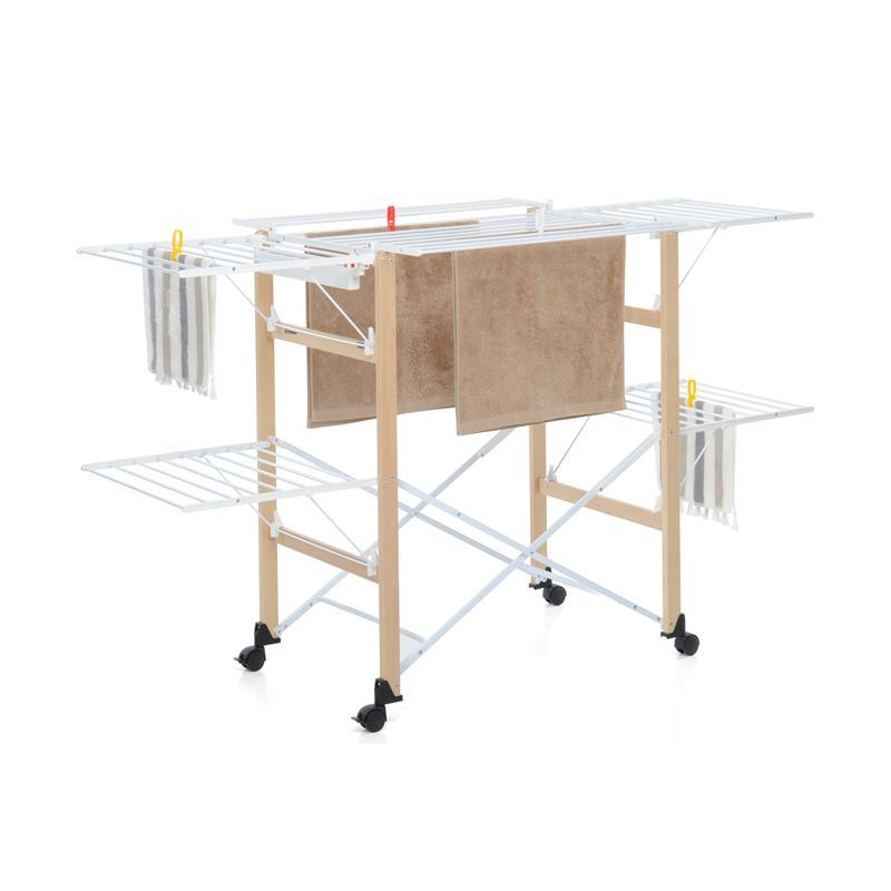 Foppapedretti – Gulliver Clothes Airer Natural (Made in Italy)