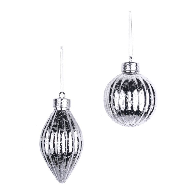 Merry Christmas Collection '21 – Silver Tree Ornament 8cm