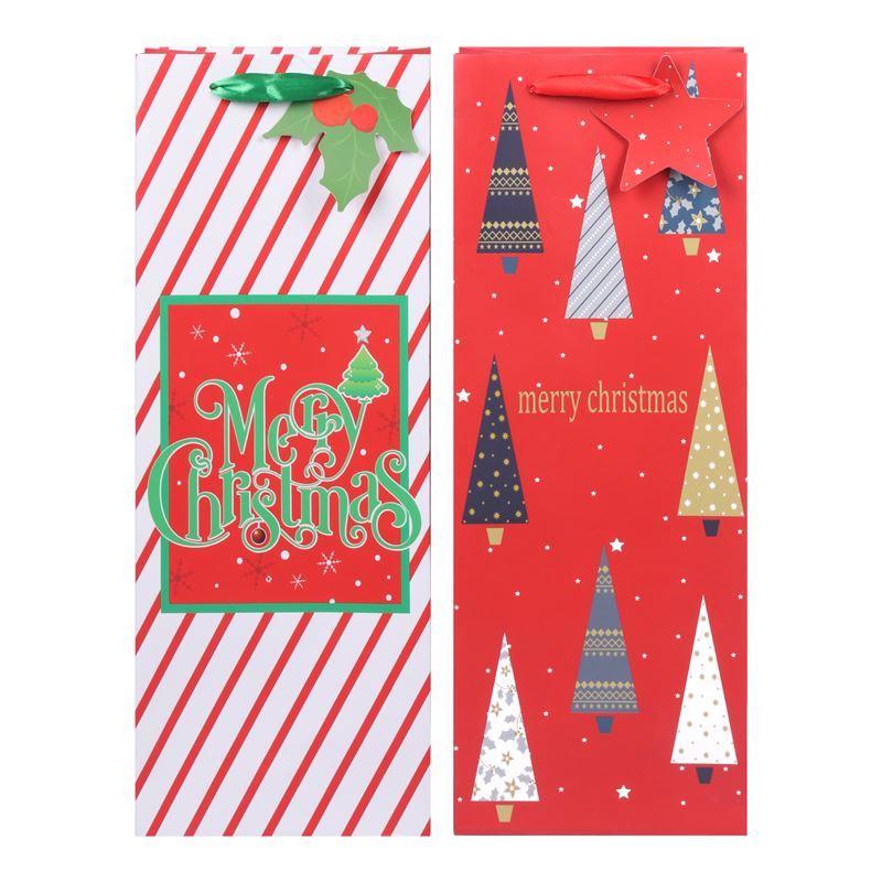 Merry Christmas Collection '21 – Wine Gift Bag Merry Christmas