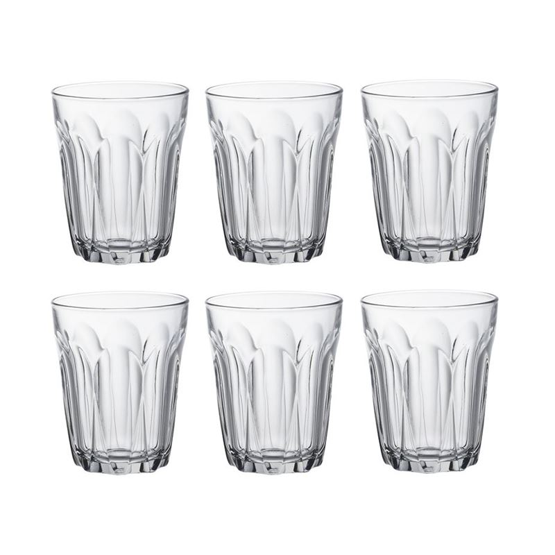 Duralex – Provence Tempered Glass Tumbler 250ml Set of 6 (Made in France)