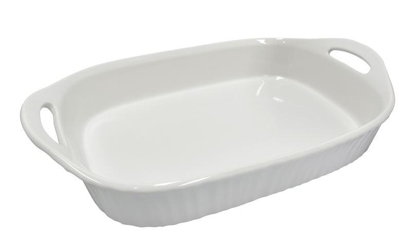CorningWare French White – Oblong Roaster 2.85Ltr