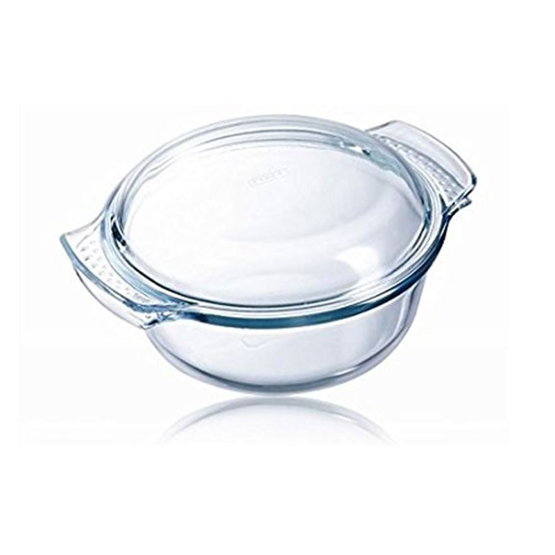 Pyrex Classic – 1.4Ltr Round Casserole With Lid 17.5cm dia x 7cm (Made in the U.S.A)