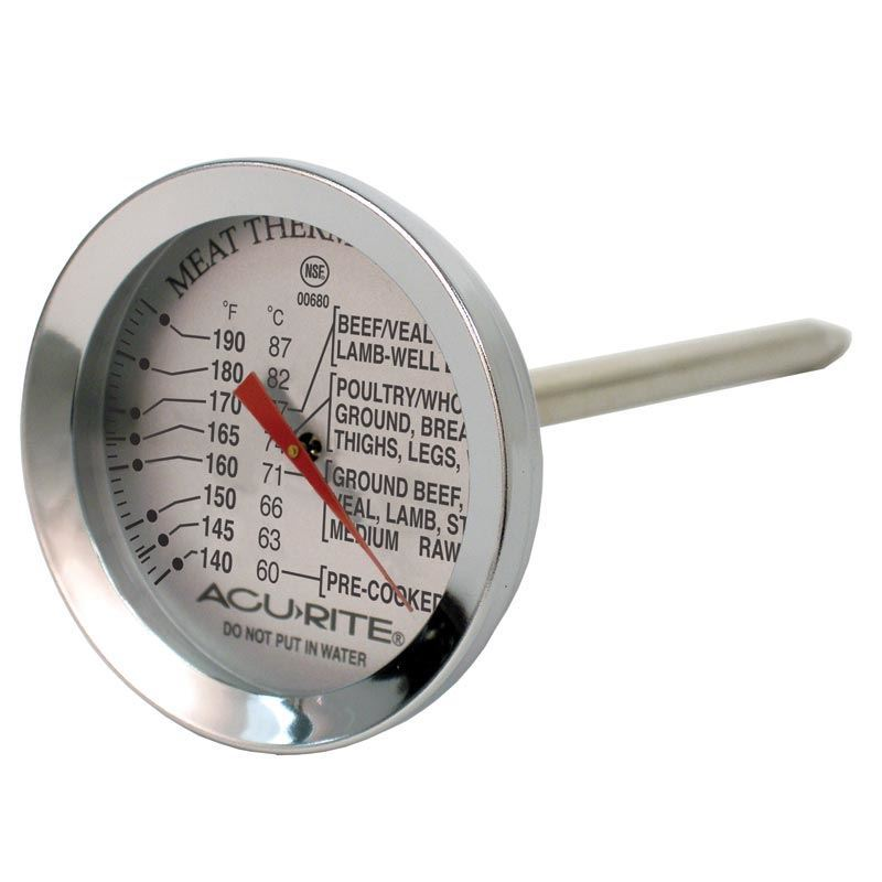 'Acu-Rite' -Dial Style Meat Thermometer