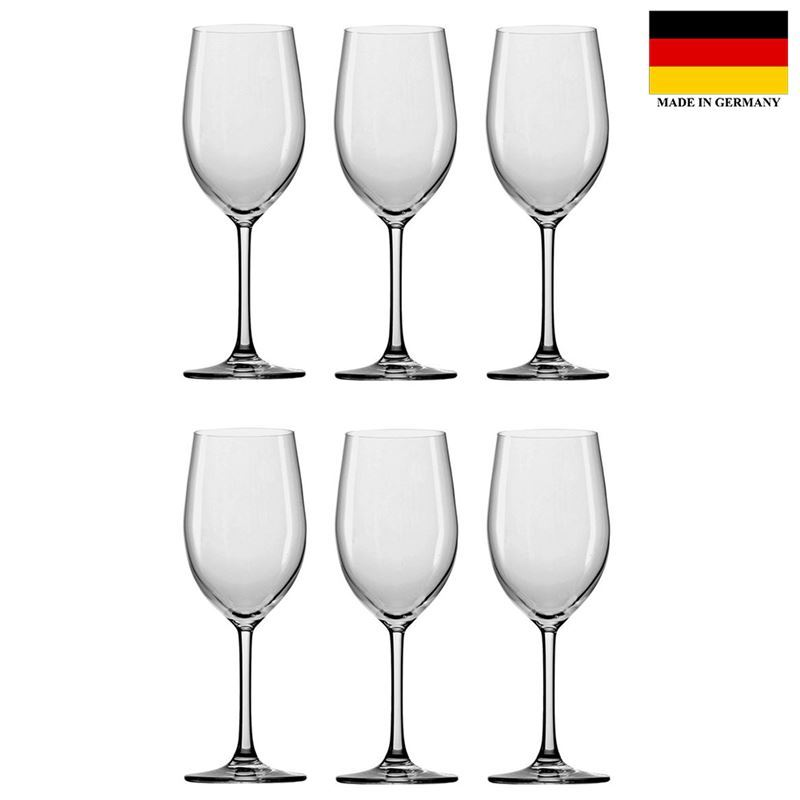 Stolzle – Classic Red Wine 448ml Premium German Lead Free Crystal Glass Set of 6 (Made in Germany)