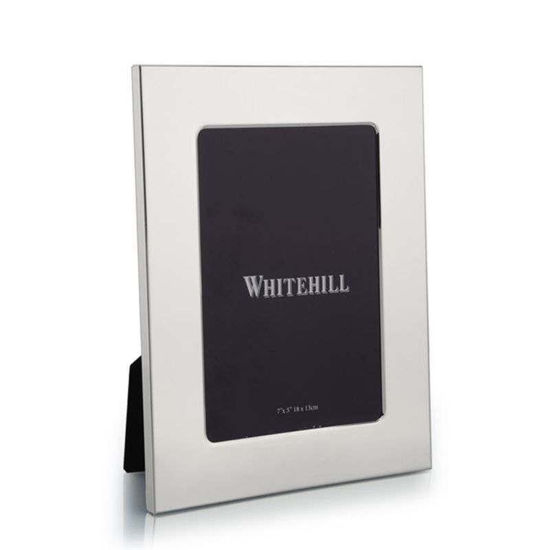 Whitehill – Studio Photo Frame Silver Plated Plain 13x18cm