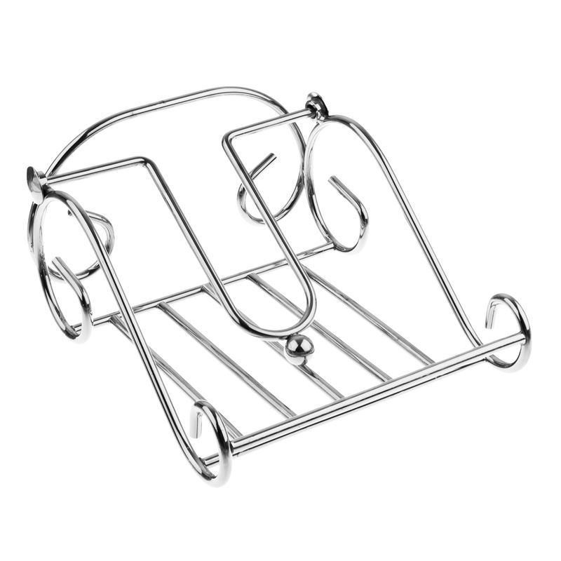 D-Line – Chrome Wire Napkin Holder with Arm