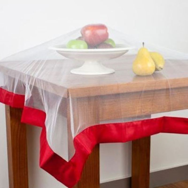 Appetito No Fly Zone – Throw Over Food Cover Red 96x96cm