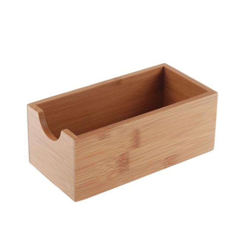 Benzer – Bamboo Ecozon Stackable Multi Storage Trays 15.4×7.8×6.4cm
