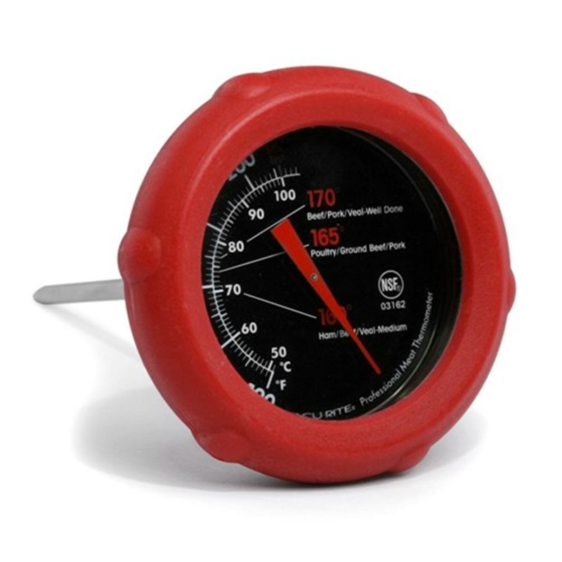 'Acu-Rite' – Silicone Dial Meat Thermometer