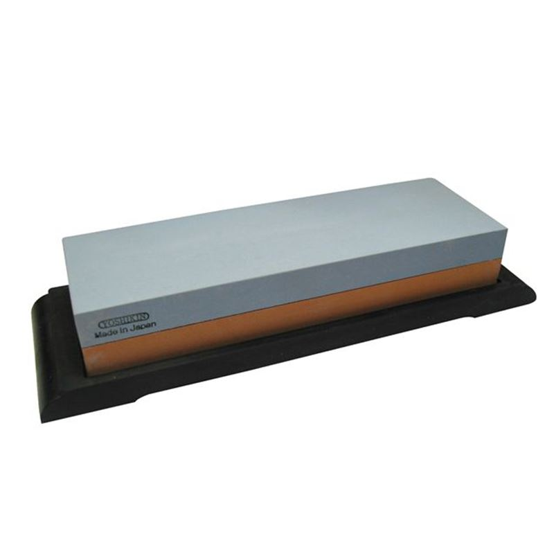 Global – G1800L Combination Water Whetstone 18.3×6.3cm 1000/240 Grit Medium Rough (Made in Japan)