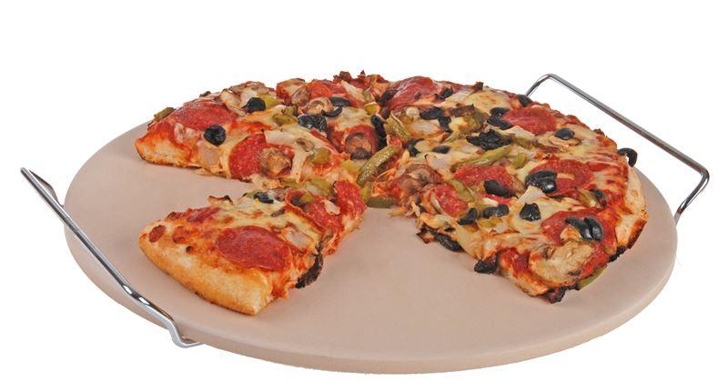 Tradizione Italiana by Benzer – EXTRA LARGE Pizza Stone 38cm