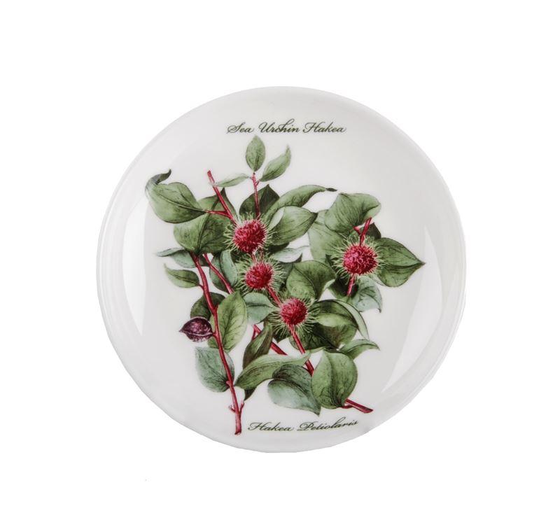 Dan Samuels Australia -Sea Urchin HakeaFine Bone China Plate/Coaster 10cm