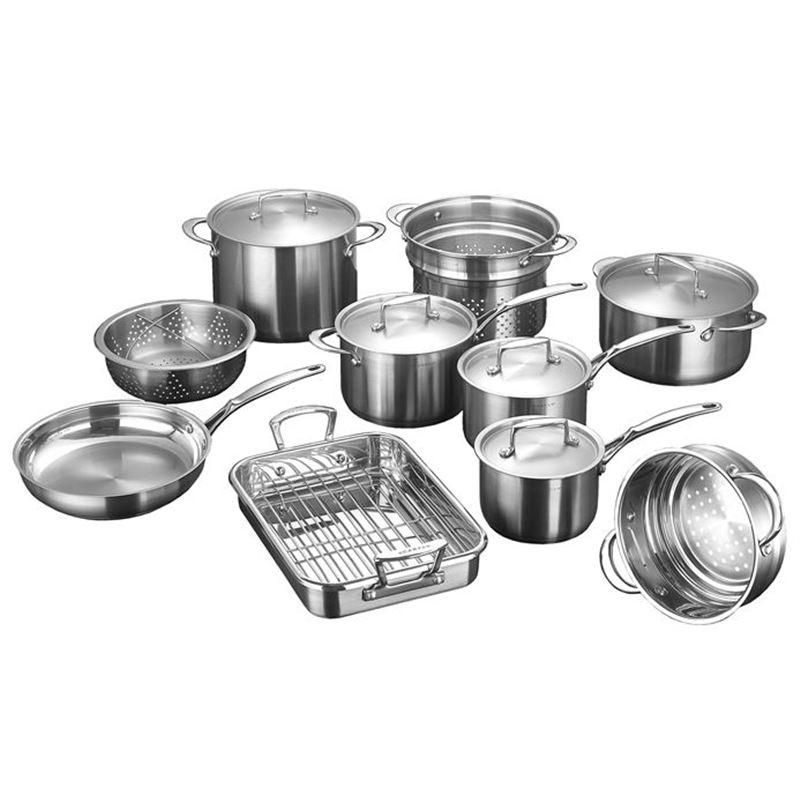 Scanpan – SatinGIANT 10pc Cookware Set