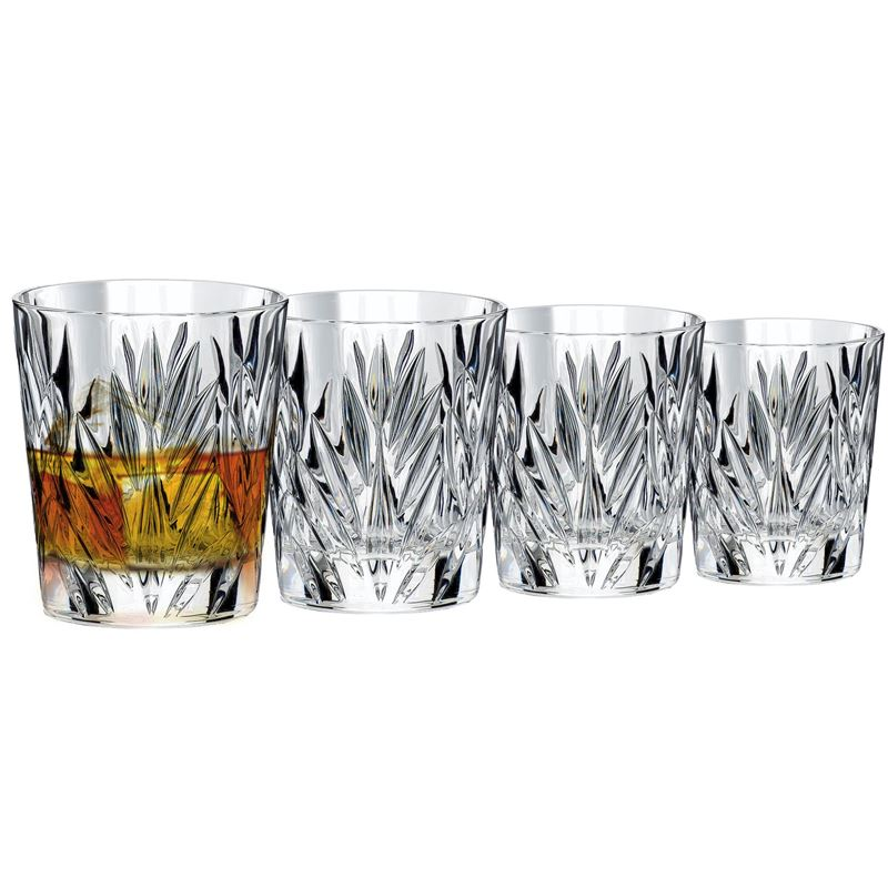 Dan Samuels – CologneLead CrystalDouble Old Fashioned 312ml Set of 4Made in Germany by Nachtmann