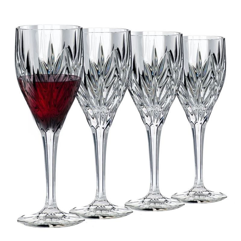 Dan Samuels – CologneLead CrystalGoblet 230ml Set of 4Made in Germany by Nachtmann