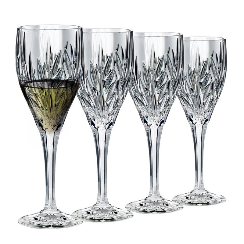 Dan Samuels – CologneLead CrystalWhite Wine 185ml Set of 4Made in Germany by Nachtmann