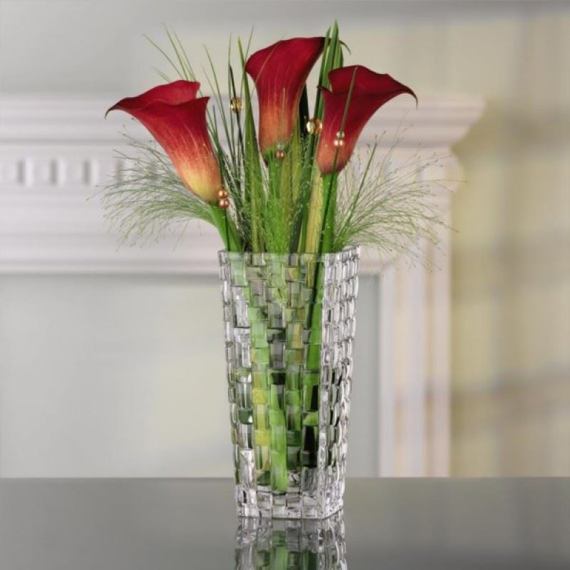 Nachtmann Crystal – Bossa Nova Lead Crystal Vase 16cm (Made in Germany)