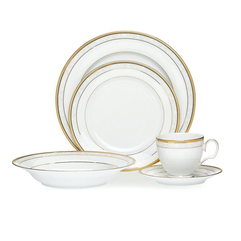 Noritake – Hampshire Gold 20pc Dinner Set