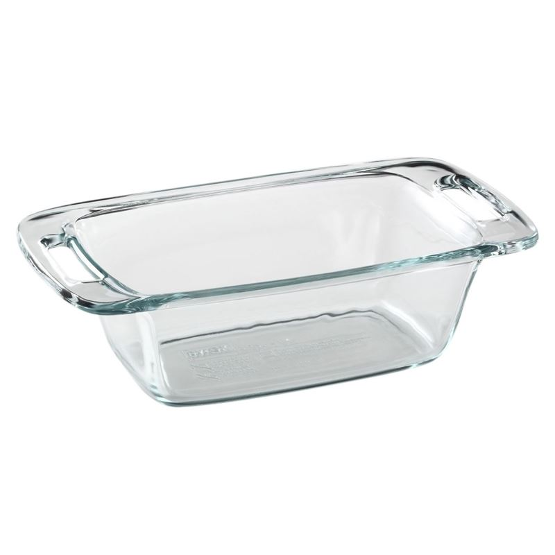 Pyrex – Easy Grab 1.4Ltr Loaf Dish 22x13x7.6cm (Made in the U.S.A)