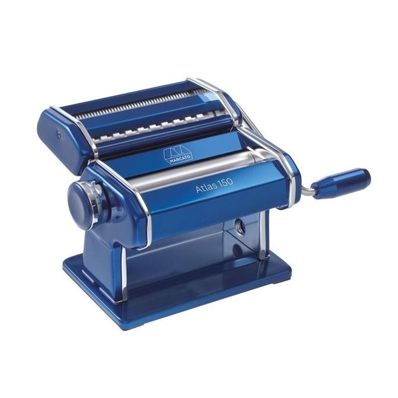 Marcato – Atlas 150 Colour Pasta Machine Blue (Made in Italy)