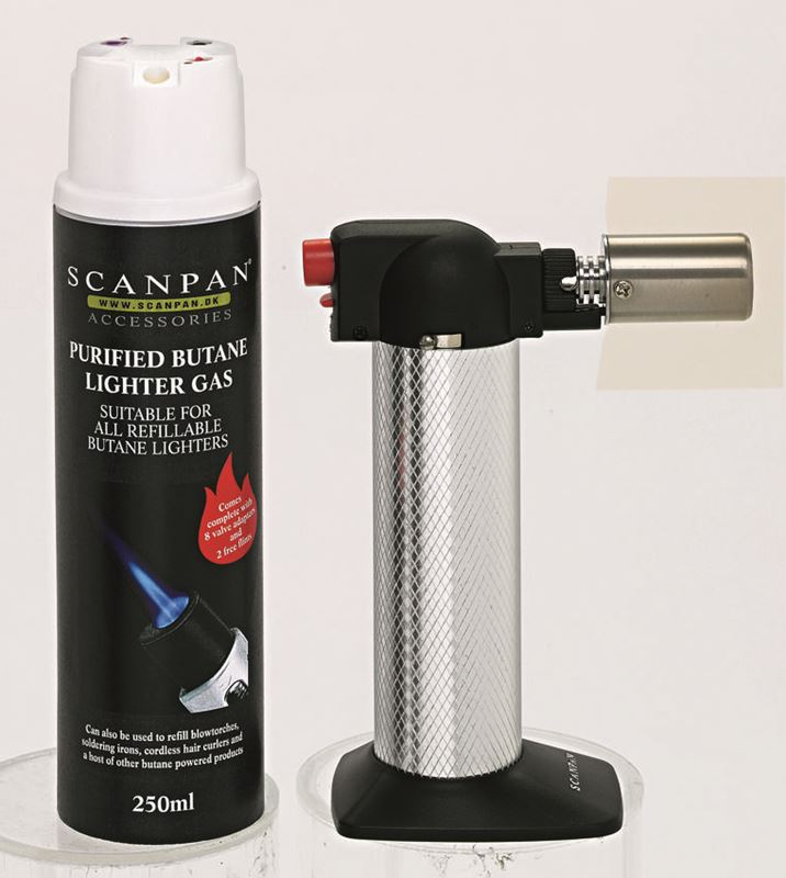Scanpan – Chef's Torch with Butane Gas 250ml- Available In Store Only –