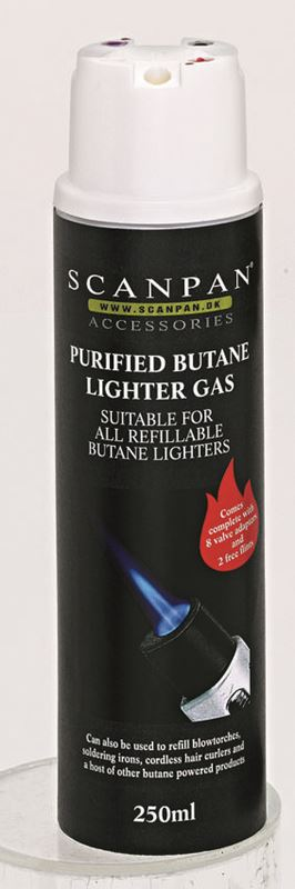 Scanpan – Butane Gas Cylinder 250ml – Available Instore Only –