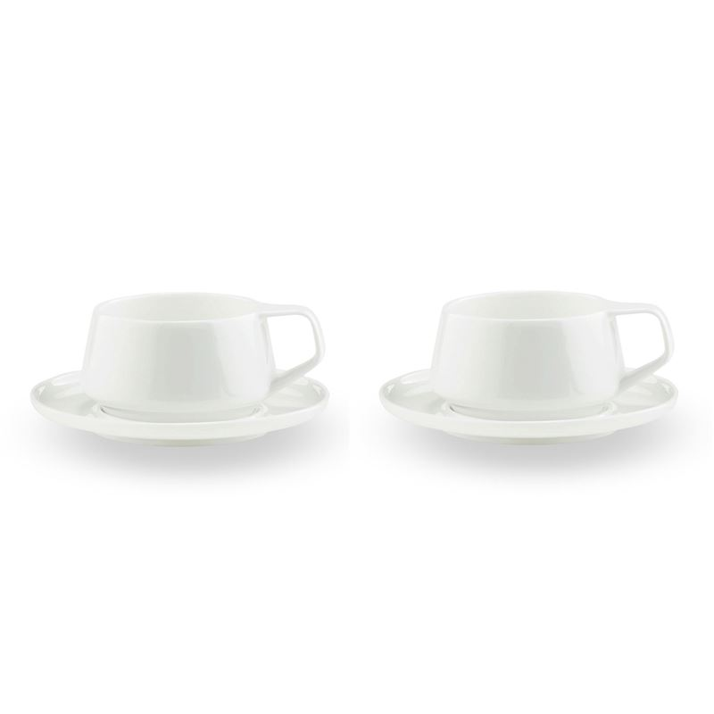 Marc Newson by Noritake – Bone China Cup and Saucer 225ml set of 2