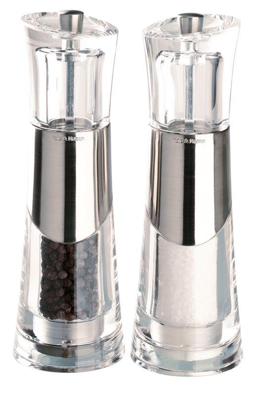 Cole & Mason – Bobbi 18.5cm Salt and Pepper Grinder Set