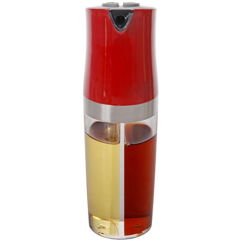 Zuhause – Kombi 2 in 1 Oil and Vinegar Pourer 19cm Red