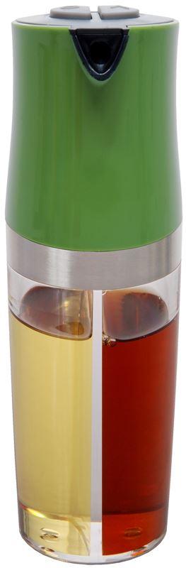 Zuhause – Kombi 2 in 1 Oil and Vinegar Pourer 19cm Green